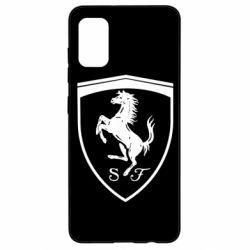Чохол для Samsung A41 Ferrari horse