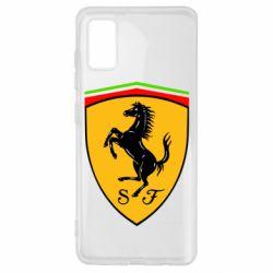 Чехол для Samsung A41 Ferrari