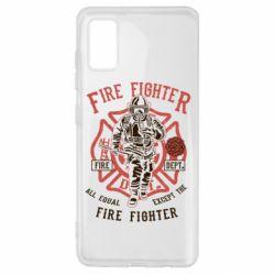 Чохол для Samsung A41 Fire Fighter
