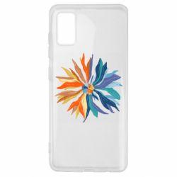 Чохол для Samsung A41 Flower coat of arms of Ukraine