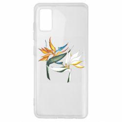Чехол для Samsung A41 Flowers art painting