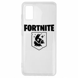 Чехол для Samsung A41 Fortnite and llama