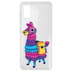Чехол для Samsung A41 Fortnite colored llama