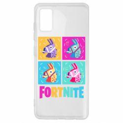 Чохол для Samsung A41 Fortnite Llamas