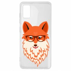 Чохол для Samsung A41 Fox with a mole in the form of a heart
