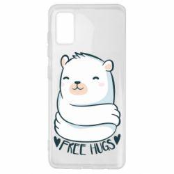 Чохол для Samsung A41 Free hugs bear