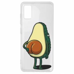 Чохол для Samsung A41 Funny avocado