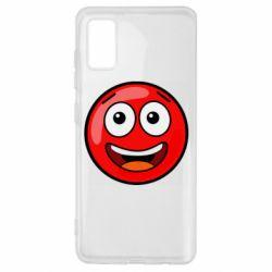 Чохол для Samsung A41 Funny Red Ball