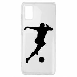 Чехол для Samsung A41 Футбол