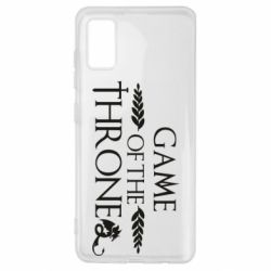Чохол для Samsung A41 Game of thrones stylized logo
