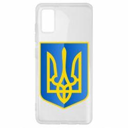 Чехол для Samsung A41 Герб України 3D