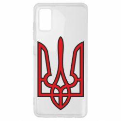 Чохол для Samsung A41 Герб України (двокольоровий)
