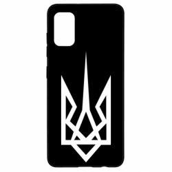 Чехол для Samsung A41 Герб України загострений