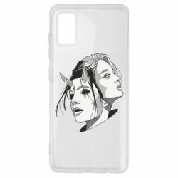 Чехол для Samsung A41 Girl and demon