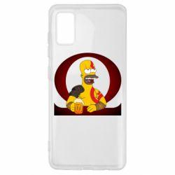 Чохол для Samsung A41 God of war: Simpson