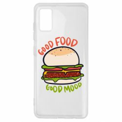 Чехол для Samsung A41 Good Food