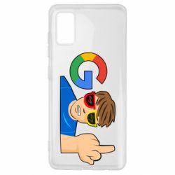 Чохол для Samsung A41 Google guy Fuck You