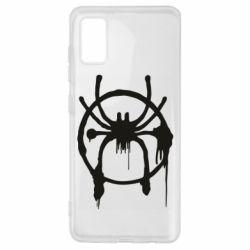 Чохол для Samsung A41 Graffiti Spider Man Logo