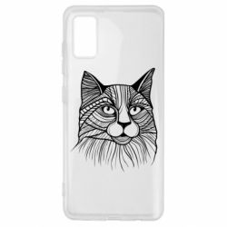 Чохол для Samsung A41 Graphic cat