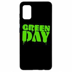 Чехол для Samsung A41 Green Day