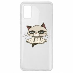 Чохол для Samsung A41 Grumpy Cat Art nope
