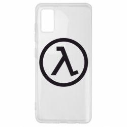 Чехол для Samsung A41 Half Life Logo