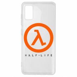 Чехол для Samsung A41 Half-life logotype