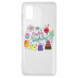 Чохол для Samsung A41 Happy Birthday