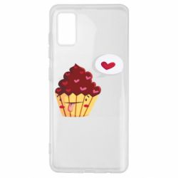 Чохол для Samsung A41 Happy cupcake