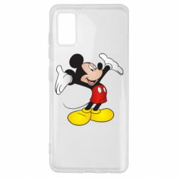 Чохол для Samsung A41 Happy Mickey Mouse