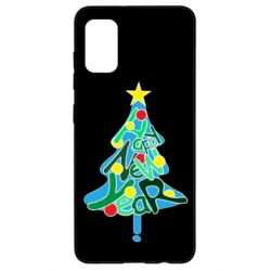 Чохол для Samsung A41 Happy new year on the tree