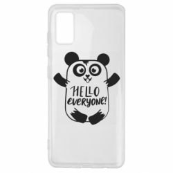 Чехол для Samsung A41 Happy panda