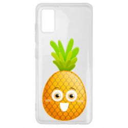 Чехол для Samsung A41 Happy pineapple
