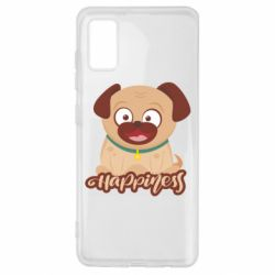 Чехол для Samsung A41 Happy pug