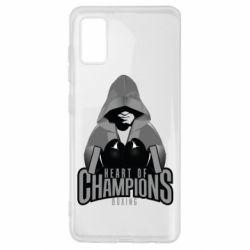Чехол для Samsung A41 Heart of Champions