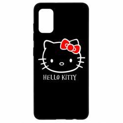 Чехол для Samsung A41 Hello Kitty