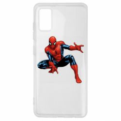Чехол для Samsung A41 Hero Spiderman