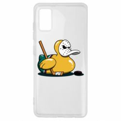 Чохол для Samsung A41 Hockey duck