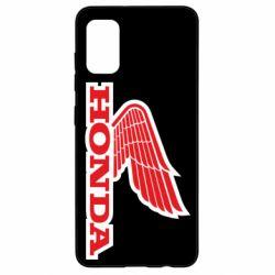Чохол для Samsung A41 Honda Vintage Logo