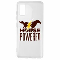 Чехол для Samsung A41 Horse power
