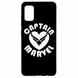 Чохол для Samsung A41 I love Captain Marvel