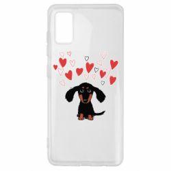 Чохол для Samsung A41 I love dachshund