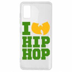 Чехол для Samsung A41 I love Hip-hop Wu-Tang
