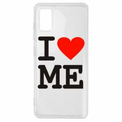 Чехол для Samsung A41 I love ME