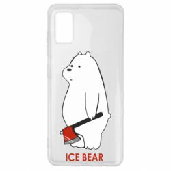 Чохол для Samsung A41 Ice bear