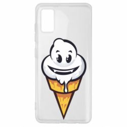 Чохол для Samsung A41 Ice cream graffiti
