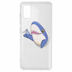 Чехол для Samsung A41 Ikea Shark Blahaj