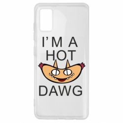 Чехол для Samsung A41 Im hot a dawg