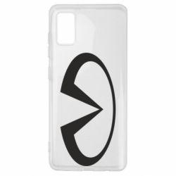 Чехол для Samsung A41 Infiniti logo