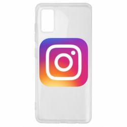 Чохол для Samsung A41 Instagram Logo Gradient